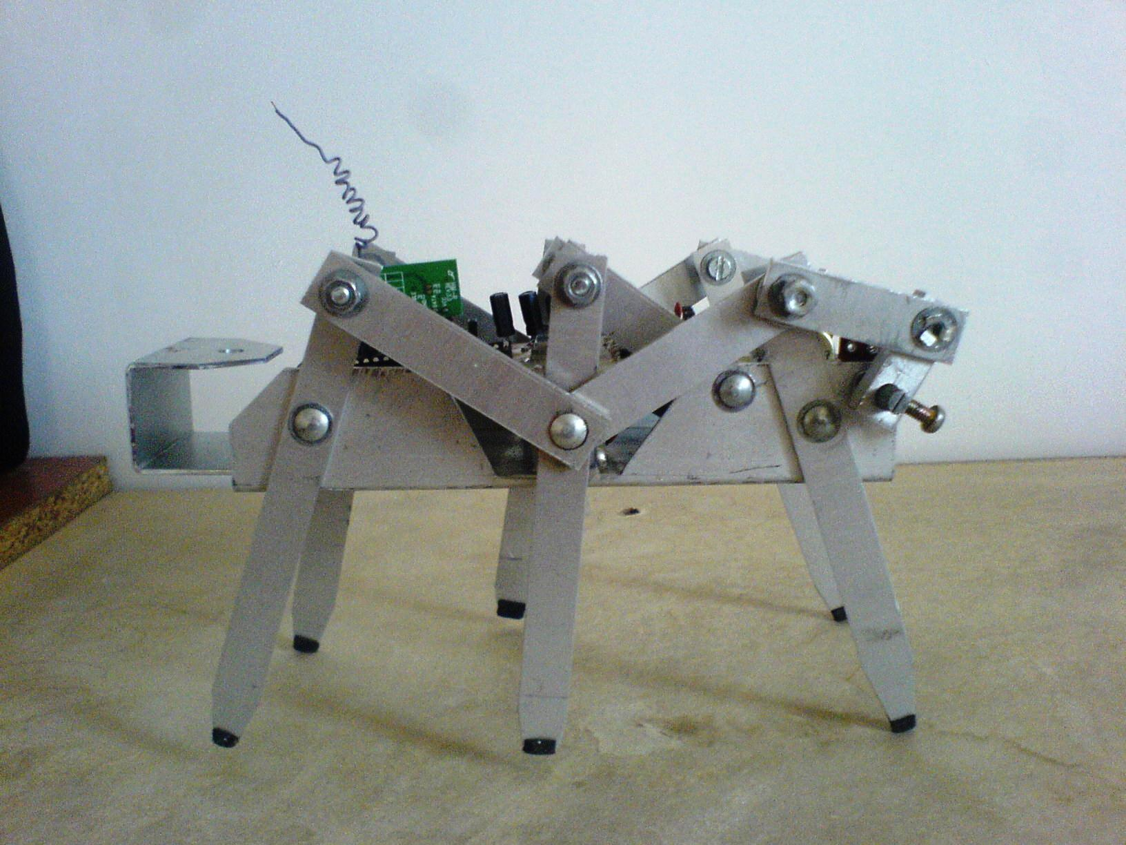 6-Legged Robot to Mimic Ant Locomotion