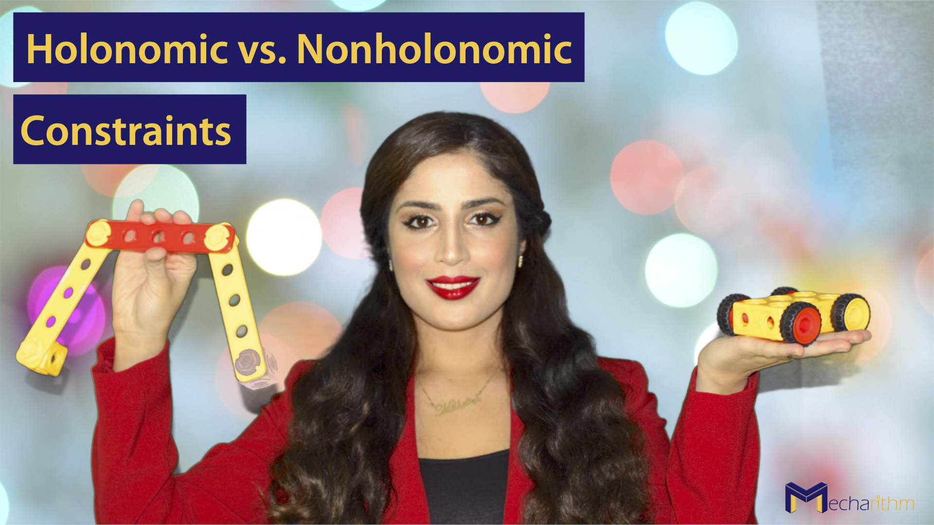 Holonomic vs. Nonholonomic Constraints for Robots